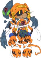 .:Heartless Tikal and Chaos:. by TeaLadyC8LIN