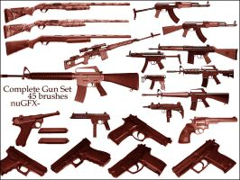 Complete Gun Set by nuGFX