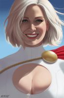 Power Girl by MattMerhoff