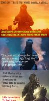 Random life lesson from Godzilla by TheCosmicMonster