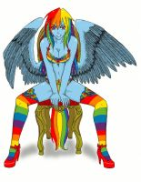 Rainbow Dash by angela808