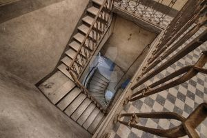 downstairs by FatmeBondage