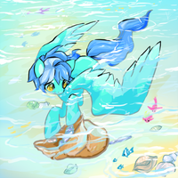 Collecting Shells by Quila-Quila