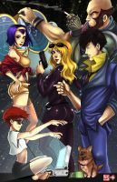 Cowboy Bebop by WiL-Woods