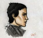 Cassandra Profile by RobtheDoodler