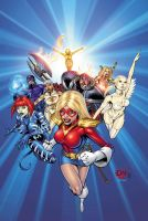 City of Heroes No.17 Cover by DNA-1