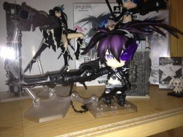 Insane Black Rock Shooter nendoroid by Aoi-Heart