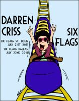 DC Six Flags Poster by LillyCrystal