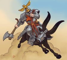 Wargoat charge! by Pachycrocuta
