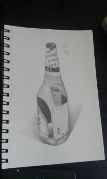 Beer bottle by GSquadron