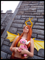 (Spyro) Flame the Dragon Cosplay by KrazyKari