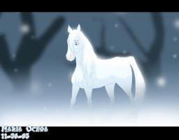 A Ghost called Falling Snow by agra19