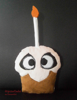 Handmade Five Nights at Freddy's Plushie - Cupcake by HipsterOwlet