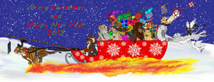 Christmas group picture by X-TIGRA