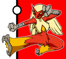 [Request] Blaziken by DankoDeadZone