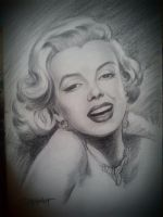 Marilyn Monroe by casey62