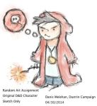 Danis....Order of the Stick Style by lostbetween