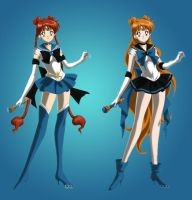 Which Sailor X is better? by Rini2012