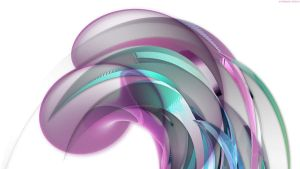 Abstract in Lavender Glass by StarwaltDesign