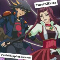 YuseiXAkiza Wallpaper: ~Faithshipping Forever~ by XxXxRedRosexXxX