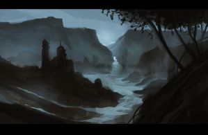 Speed Painting Environment 1 by TheChaoticKnight