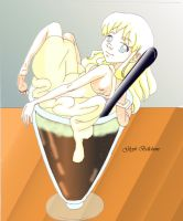 Root Beer Float by GlyphBellchime