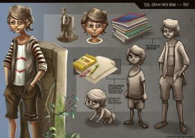 The Graveyard Book - Nobody Owens by Clotaire