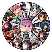 Anime: Summary of Art - 2 0 1 4 by LemonPoppySeedMuffin