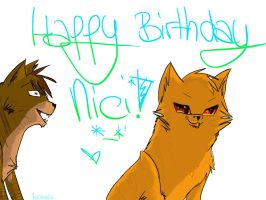 Happy Birthday, Nicii!! :3 by SunnyBlub