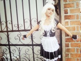 [Costume] White Maid (3) by Book-No00