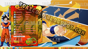 GOKU TEMA WINDOWS 7 by ToxicoSM
