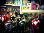 Power Rangers Art Show by surfrattsurfer