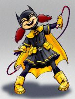 Little Batgirl by gypsygirlpress
