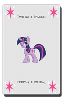 Twilight Sparkle Card by pims1978