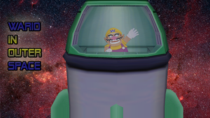 Wario In Outer Space by waluigisrevenge