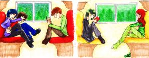 Train Ride to Hogwarts by Verie