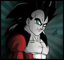 Super Saiyan 4 Vegeta by just3inchesunder