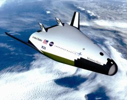 X-33 Venture Star in Orbit by lusitania25