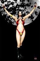 Vampirella by SpaceMonkey1977
