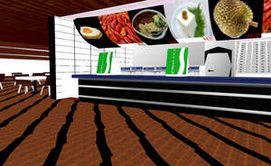 MMD Food place (lol) by amiamy111