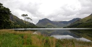 Buttermere in August by gwenoder