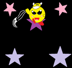 AT: Yellow Cutter Kirby by Fortuneteller102