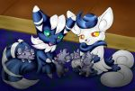 Pokitty Family Meowstic by shaloneSK
