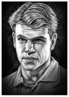 Matt Damon 3 by Mr-Ripley