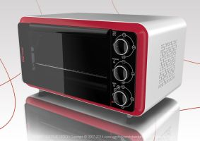 Convection Toaster Oven by Roberdigiorge