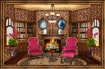 Victorian Reading Room by OokamiKasumi