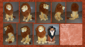 .: DSE Adult Simba Plush :. by Dunkin-Prime