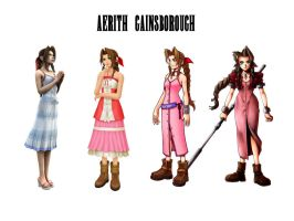 Aerith Gainsborough by JocelynJEG