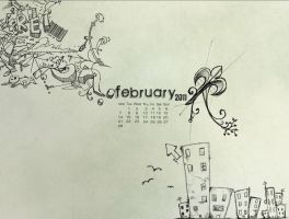 Wallpaper February 2011 by PatriciaG