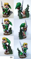 Link in the Forbidden Woods - Multiple Views by Ingtron